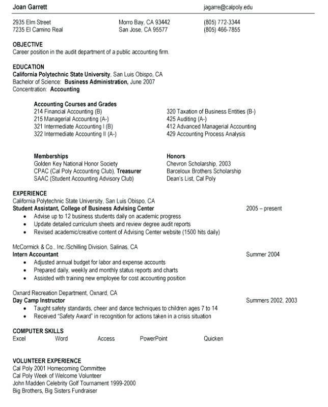 Resume Examples High School – Okurgezer.co