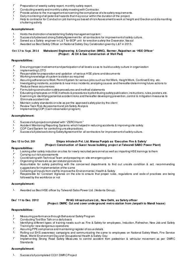 IRFAN EHS CV