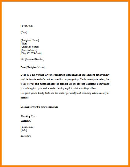 Request letter format download