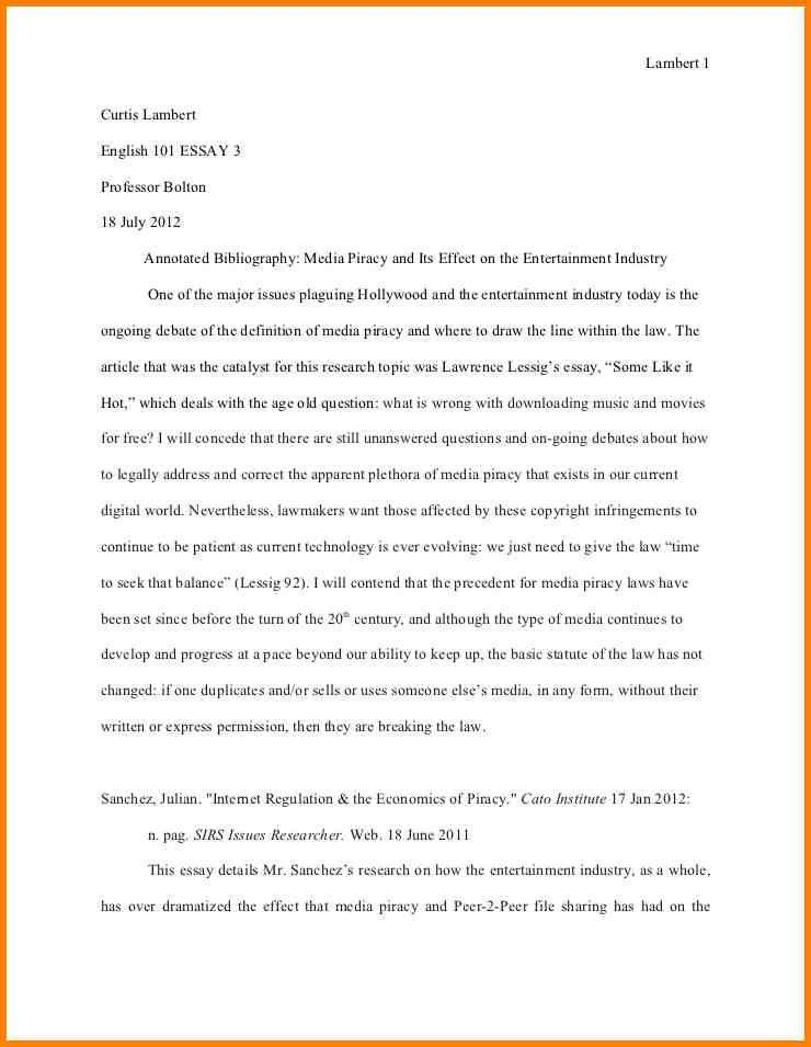 7+ apa annotated bibliography example 2012 | Annotated bibliography