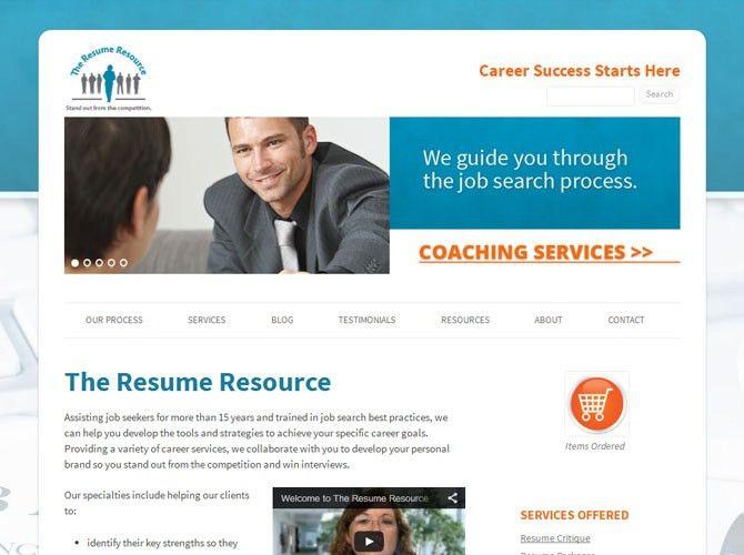 online resume site