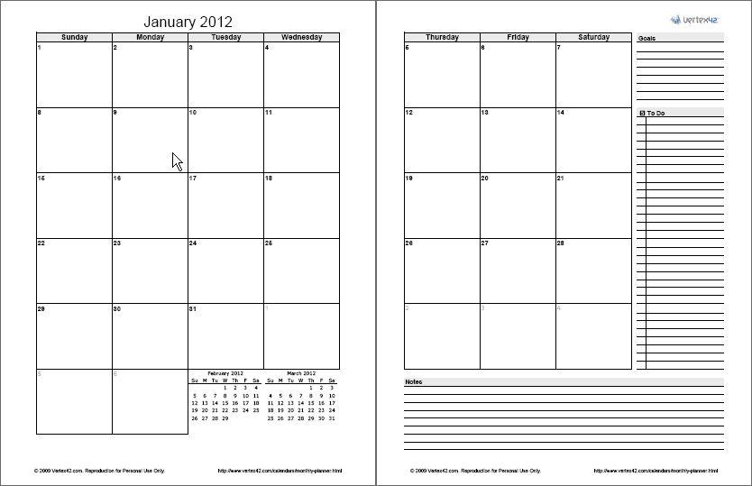 Free Calendars and Calendar Templates | Printable Calendars