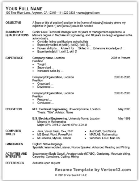 resume template microsoft word best business templates 2013 free ...