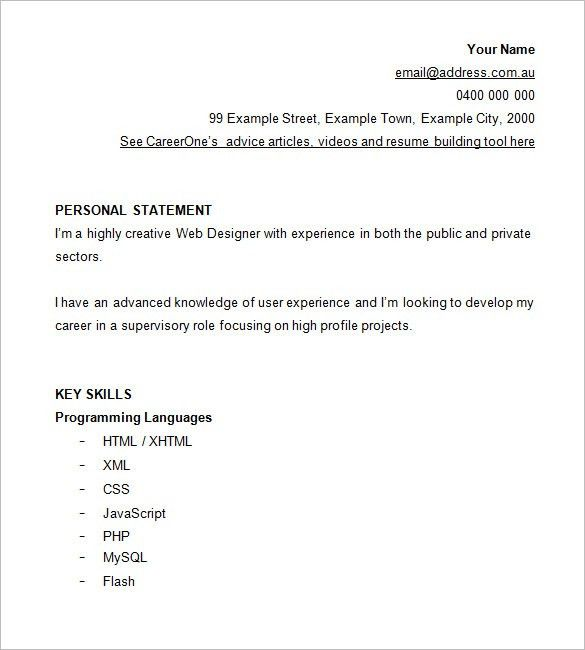 graphic web designer resume example. web designer cv template ...