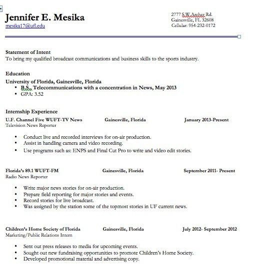 resume format. click on image for full page view. resume format ...