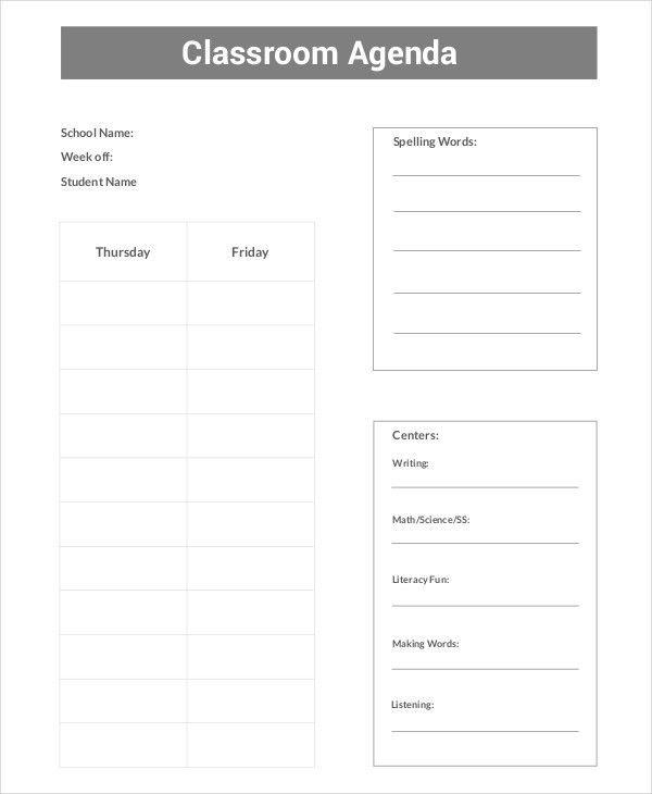 Agenda Template - 35+ Free Word,PDF Document Download | Free ...