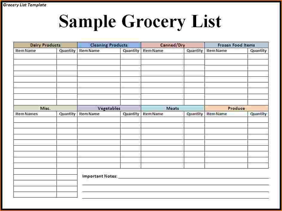 Grocery List Template.printable Grocery List Template Preview.png ...