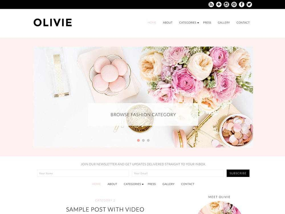30 Best Fashion Blog & Magazine WordPress Themes 2017 - aThemes
