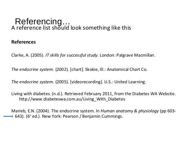 Learn to Reference with Word 2007