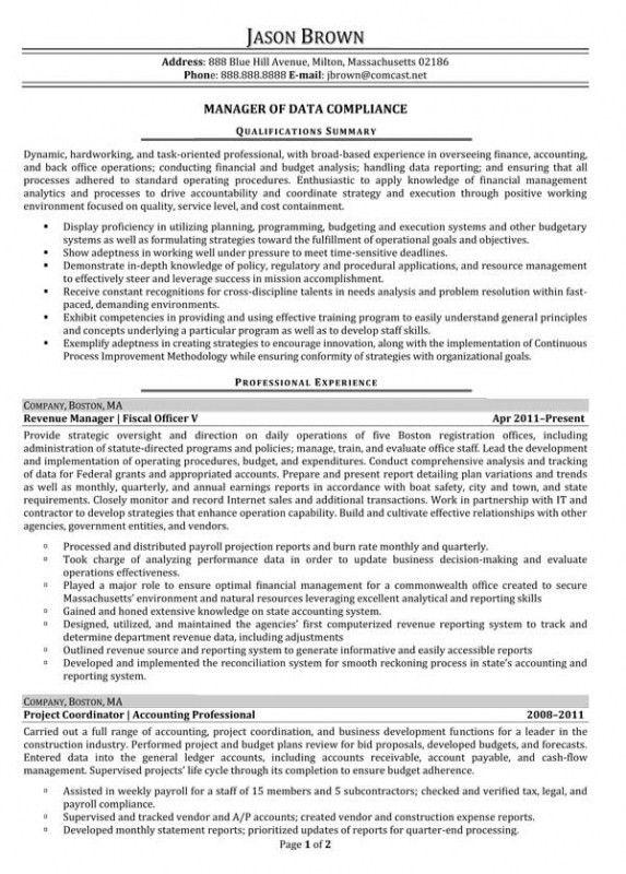 Data Analyst Job Description Resume – Resume Examples