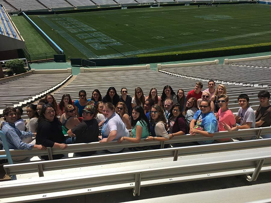 Polk students pay campus visit to UNC Chapel Hill | PolkStudents