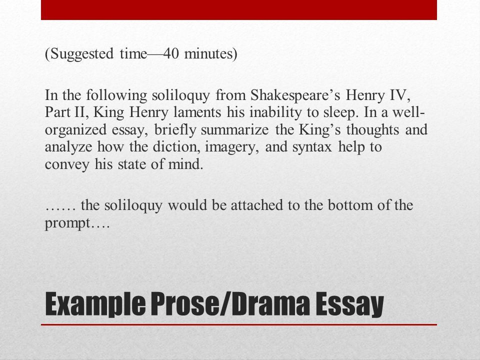 AP English Literature and Composition National Exam - ppt video ...