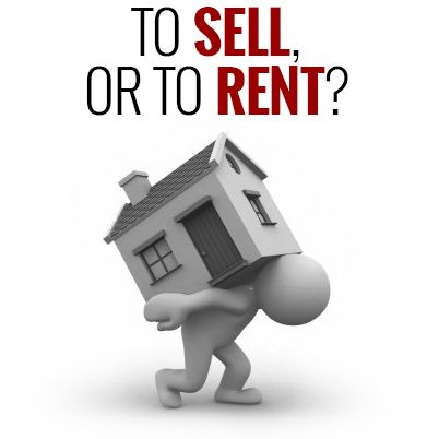Can't sell? Rent your home!
