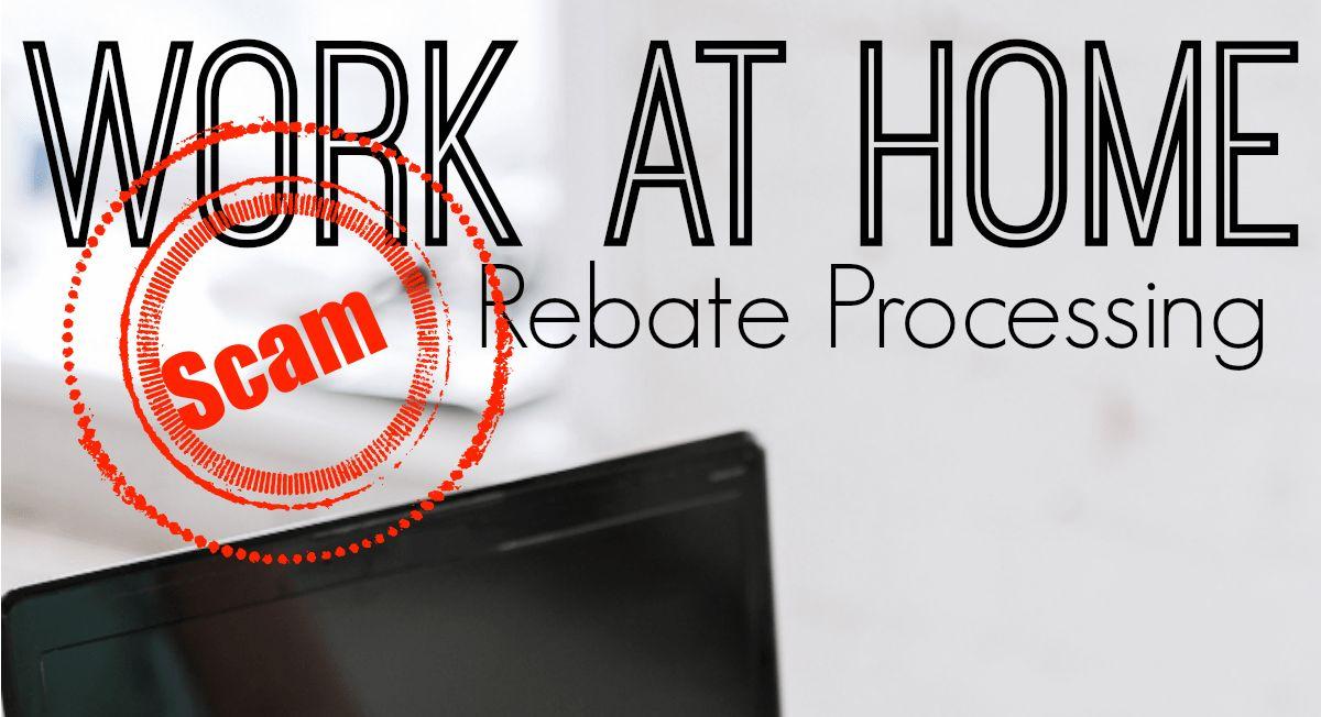 Work At Home Rebate Processing Jobs