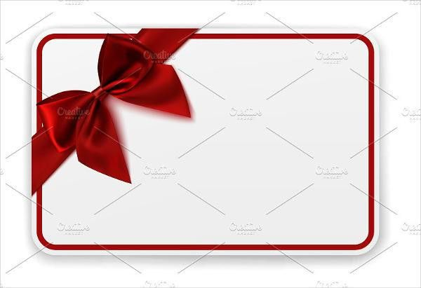 5+ Blank Gift Card Templates - Design, Templates | Free & Premium ...