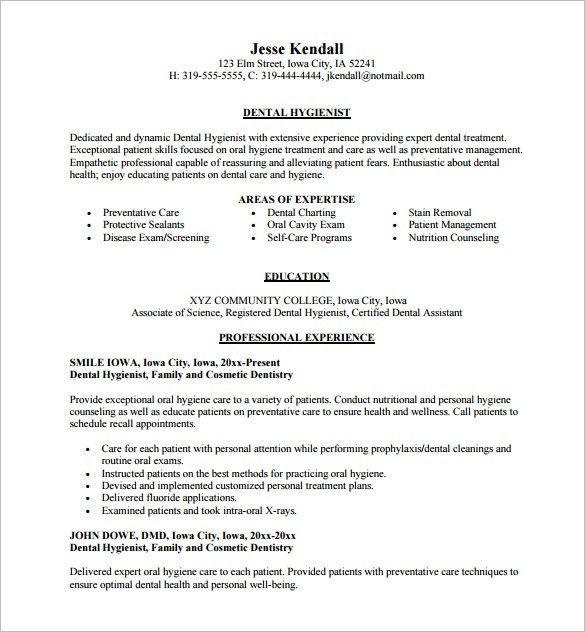 Free Resume Sample and Format - Browse hundreds of New FREE ...