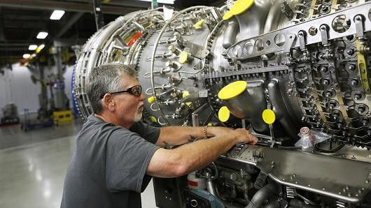 General Electric posts earnings of 39 cents a share, matching ...
