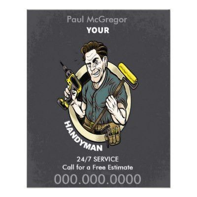 Handyman Flyer | Zazzle.com