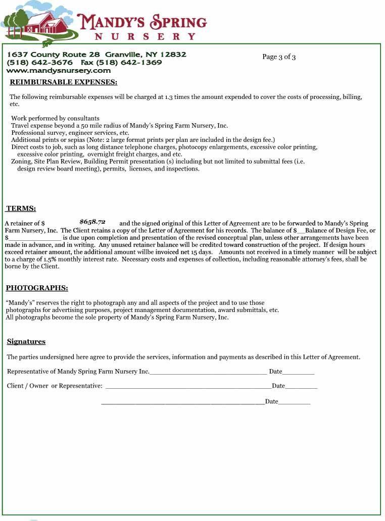 Letter Of Agreement Samples Template | rapidimg.org