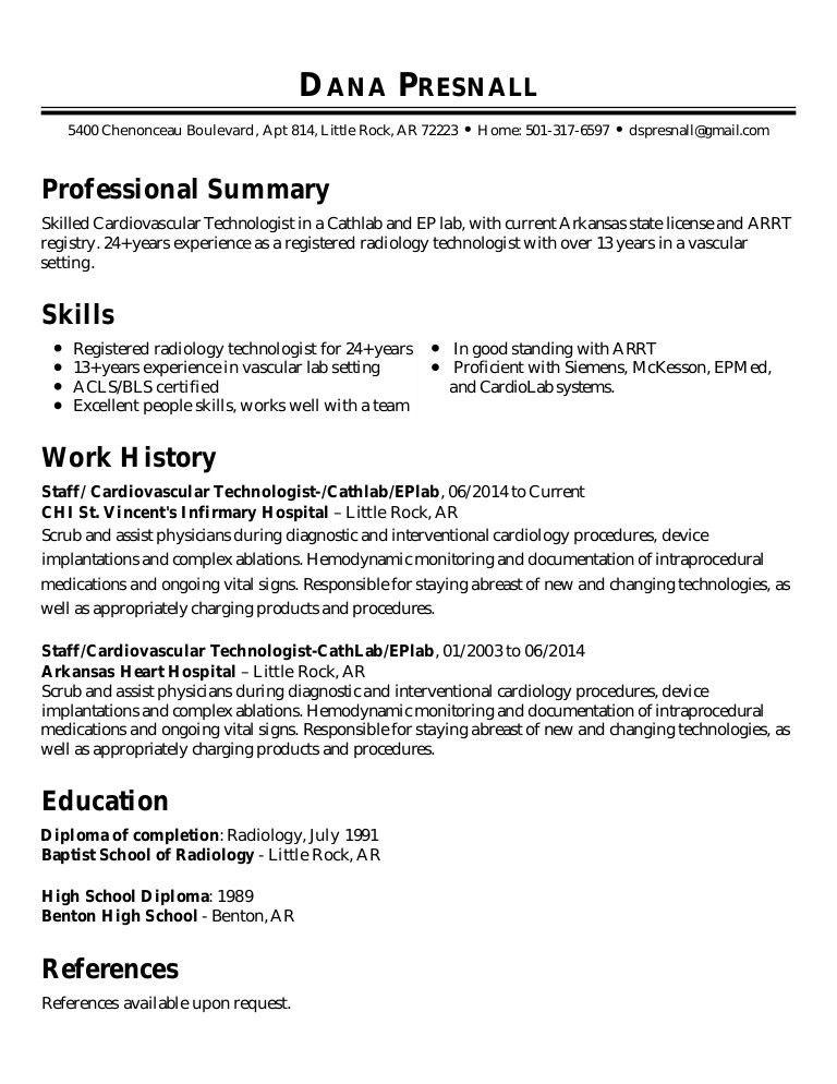 Dana Presnall Resume 1-4