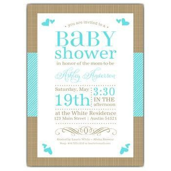 Baby Shower Invite Wording | christmanista.com