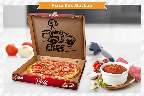 21+ Pizza Box Templates | Free & Premium Templates