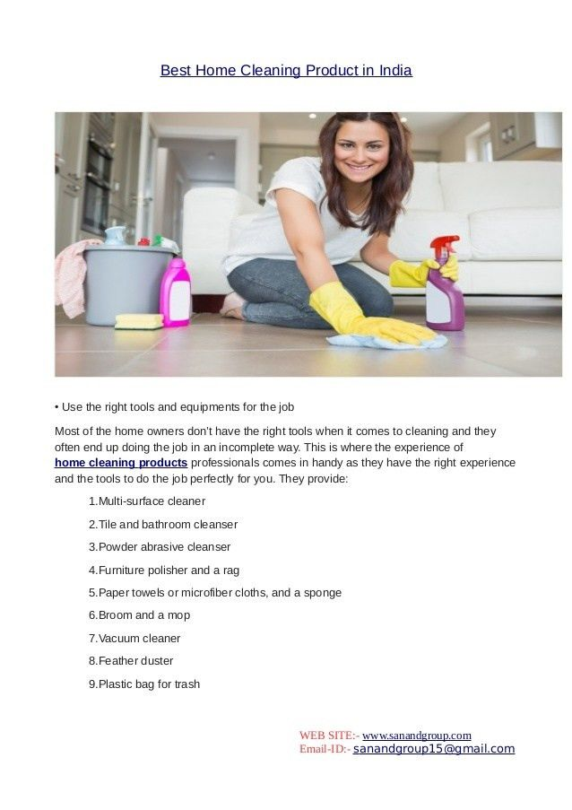 Best home cleaning product in india