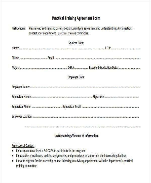 Agreement Form Sample. 8+ Vendor Agreement Form Samples - Free ...