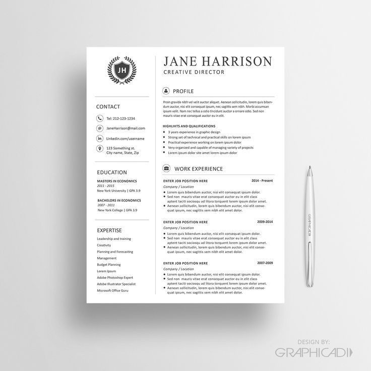 98 best Resume designs images on Pinterest | Cv template, Resume ...