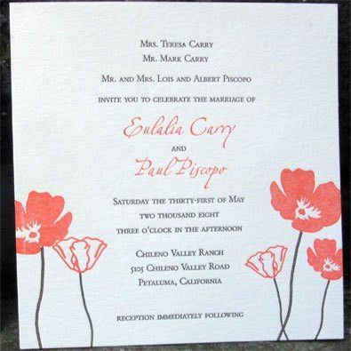 Samples Of Wedding Invitations Cards - iidaemilia.Com