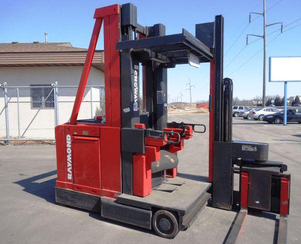 Used RAYMOND Turret Stock Picker for sale: Atlanta Forklift