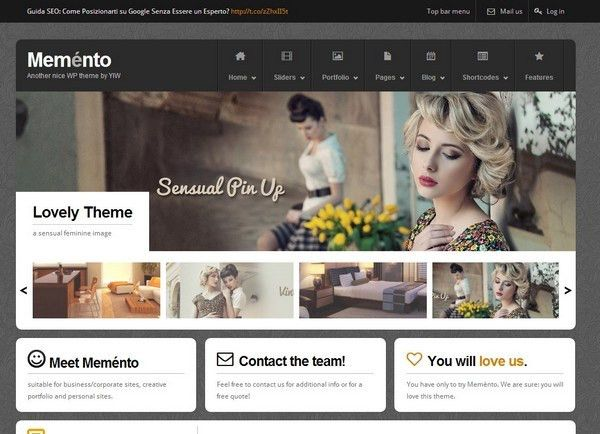 25 Free and Premium Portfolio Website Template | Ginva