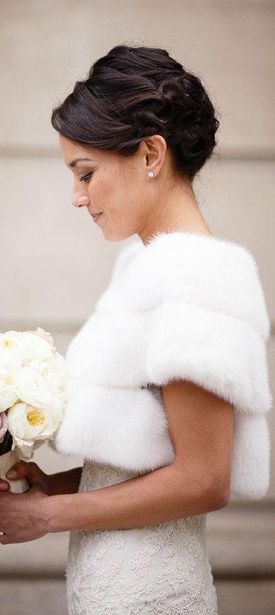 Winter Wedding jacket 9 best photos - Winter Wedding  - cuteweddingideas.com