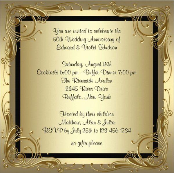 72+Invitation Card Templates | Free & Premium Templates