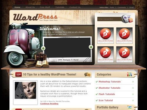 Best 2-Column WordPress Themes
