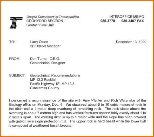 INTEROFFICE MEMO.Geo Technical Interoffice Memo PDF Download.jpg ...