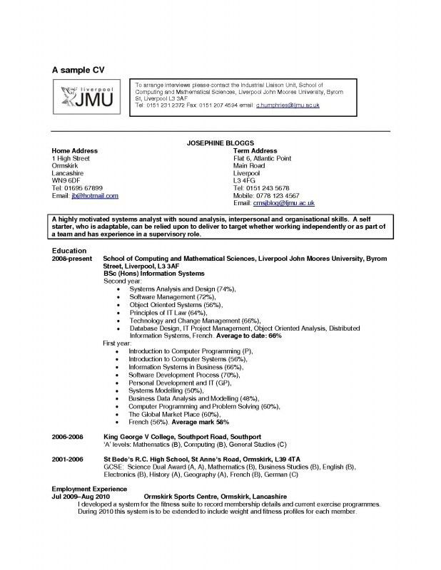 Hobbies And Interests On A Resume - Template Examples