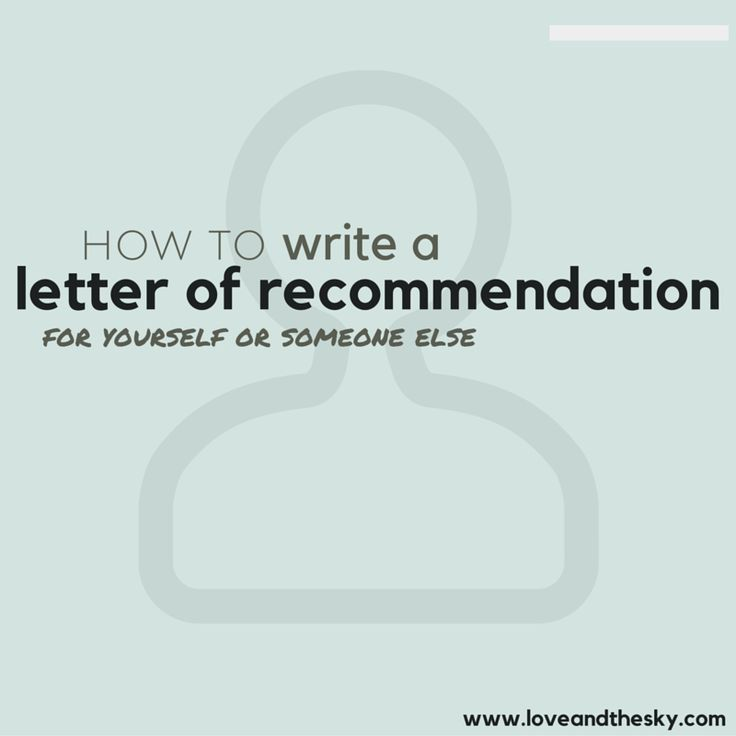 Best 25+ College recommendation letter ideas on Pinterest ...