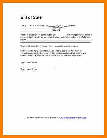 7+ Vehicle Sale Letter Format | Science-resume