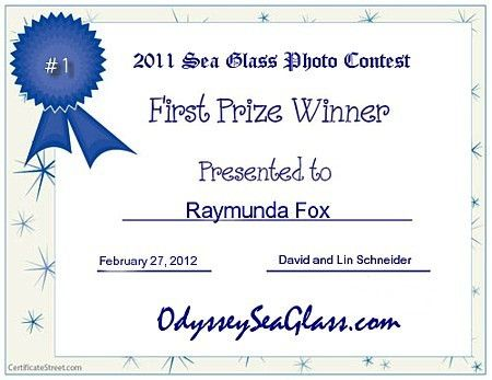 May 2011 Online Sea Glass Photo Contest