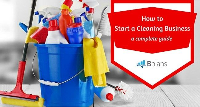How to Start a Cleaning Business | Bplans