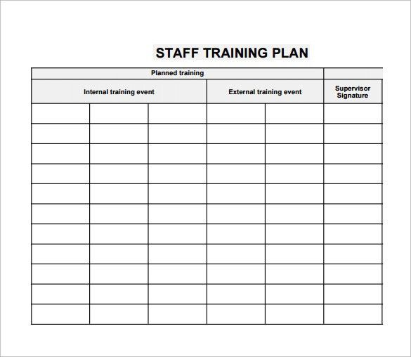 employee training calendar template - Template
