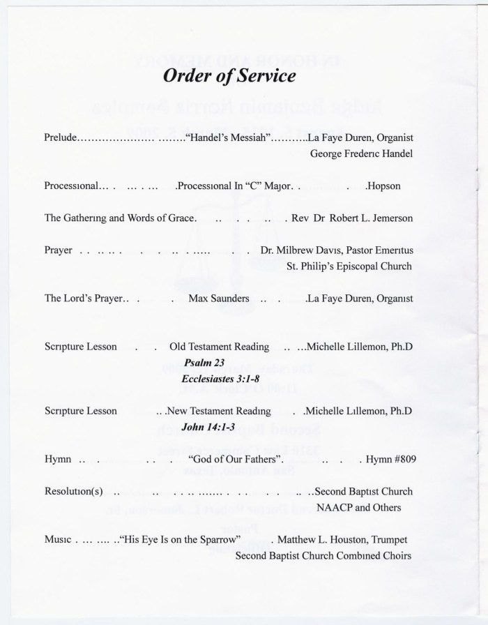 Church Program Template | cyberuse