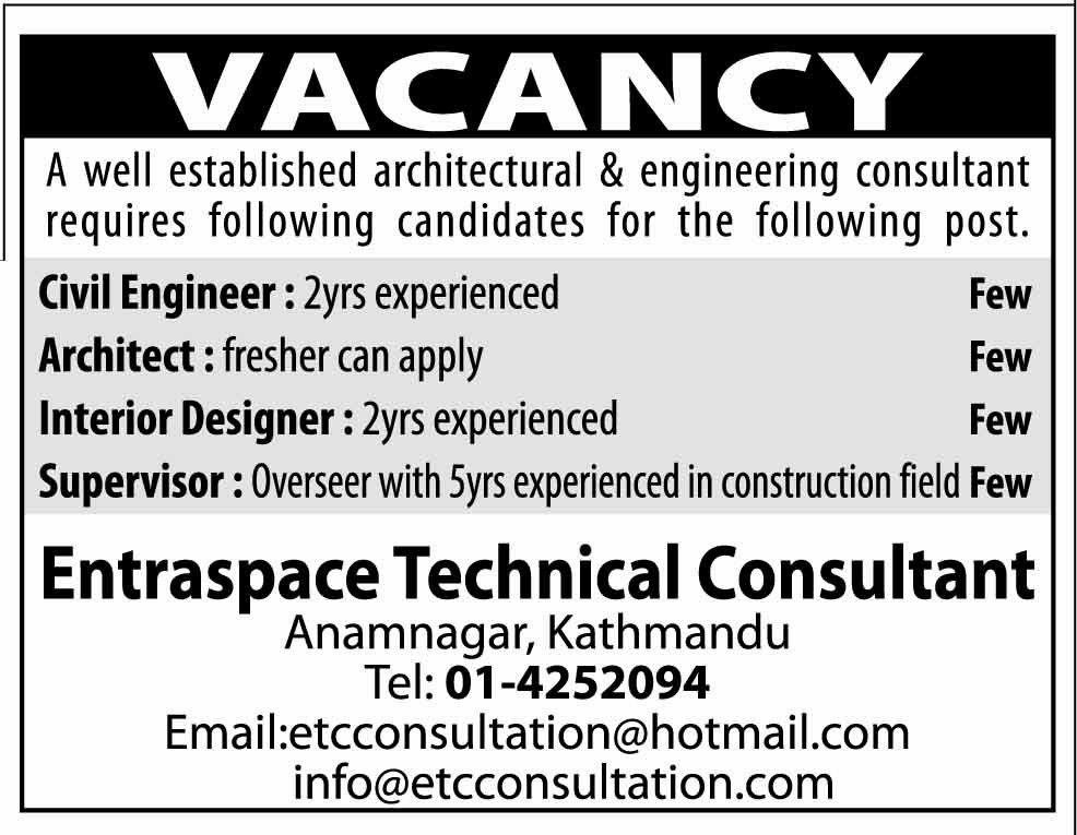Cozy Inspiration Architectural Designer Job Vacancy 4 Graphic ...