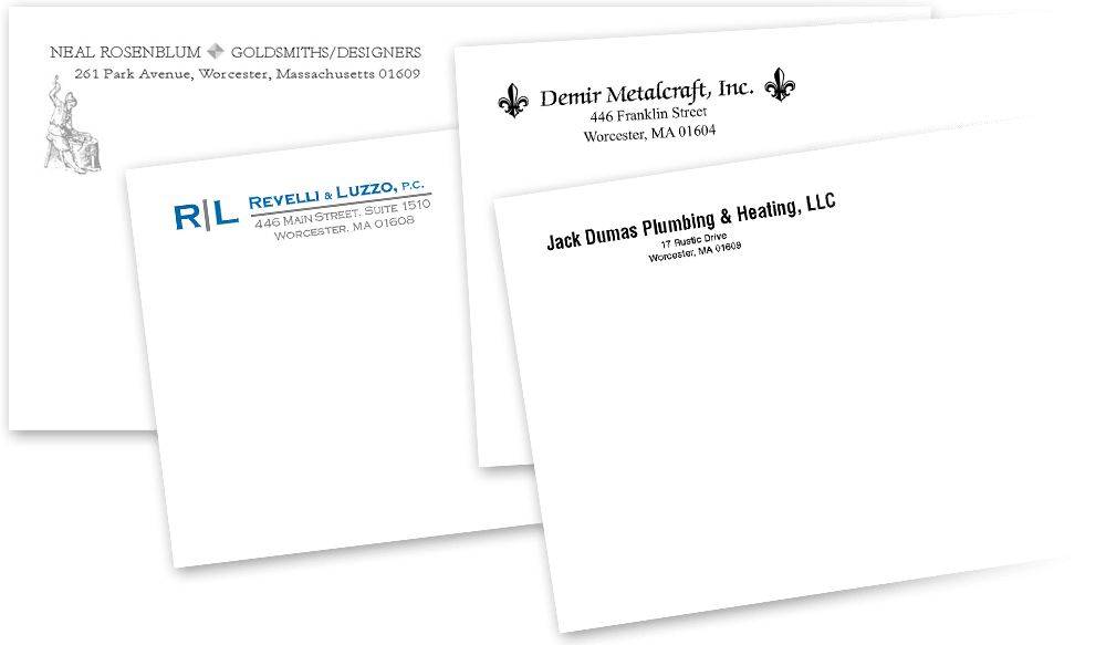 Corporate Envelopes and Letterheads | Stationery Design & Printing