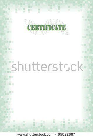 Guilloche Border Diploma Certificate Stock Vector 47915002 ...