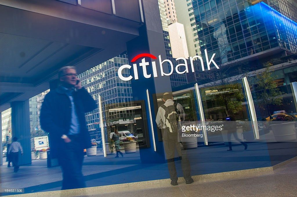 Citigroup Exteriors Ahead Of Earns Figures Photos and Images ...