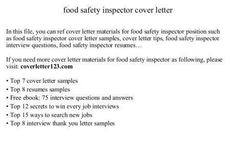 Fire Inspector Cover Letter Fire Inspector Cover Letter Sample