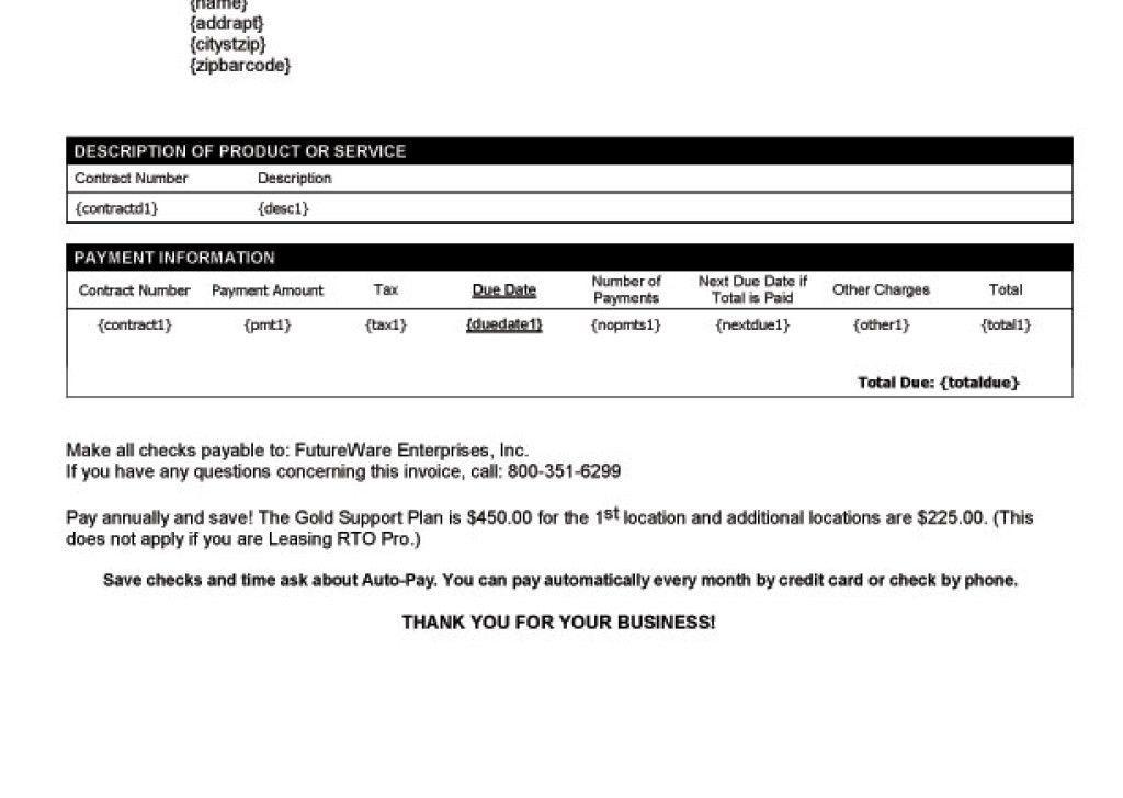 Oceanfronthomesforsaleus Surprising Blank Service Invoice ...