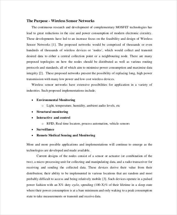 Project Proposal Template Sample. Writing An Education Grant ...